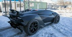 These Guys Turned a 30 Year-Old Volvo into a $2 Million Lamborghini (click on pic to see )