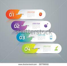 Infographic Design Template Can Be Used témájú stockvektorkép (jogdíjmentes) 267796916 Powerpoint Design Templates, Presentation Templates, Game Ui Design, App Design, Diagram Chart, Illustrator Tutorials, Infographic Templates, Lorem Ipsum, Creative Design