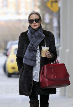 Olivia Palermo | Not a big fendi girl but that 2jours bag is major.