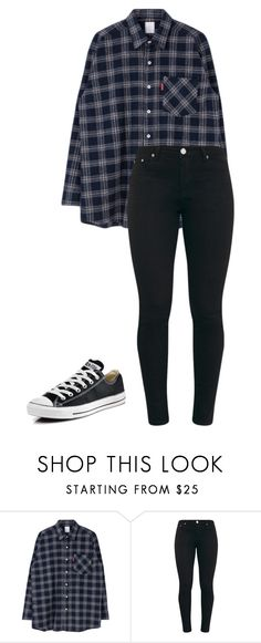 """Min Jeong- Fake Help 2"" by ifrancesconi on Polyvore featuring Converse"
