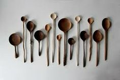beautiful wooden spoons - Google Search