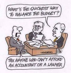 What's the quickest way to balance the budget? #accountinghumour