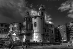Church Camogli. by Farone Domenico