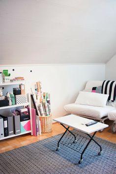 Work space / movie room