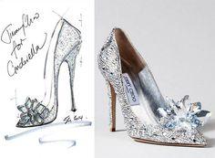 Daily Pleasures: Cinderella Shoes | Jimmy Choo