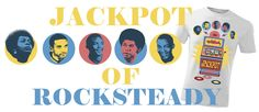 Do You Recognize Rocksteady Oryginators On Our Tee?  Jackpot Of Rocksteady is Hot Shot Wear Tribute To Best Period Of Jamaican Music.  http://shop.hotshotwear.net/jackpot-of-rocksteady-p-77.html http://shop.hotshotwear.net/jackpot-of-rocksteady-p-75.html