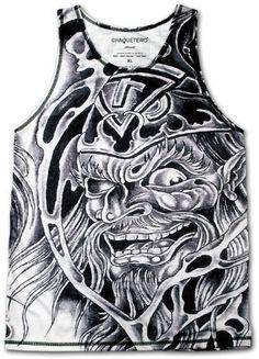 "CHAQUETERO ""Wizard"" designer tank top muscle shirt for men Wizard Warlock Merlin Gandalf Fantasy Tattoo Singlet T-Shirt XS S M L XL 2XL 3XL CHAQUETERO, http://www.amazon.co.uk/dp/B00DQH7TIK/ref=cm_sw_r_pi_dp_OtN2rb1TRM1JR"