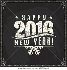 Happy New Year 2016 Photos et images de stock | Shutterstock