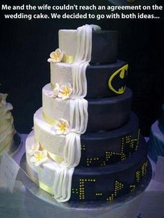 Andy and juliets wedding cake (hopefully if thy get married