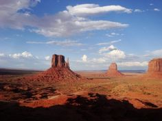 The Mittens from The View Hotel balcony, Monument Valley. Photo by Jim Turner.