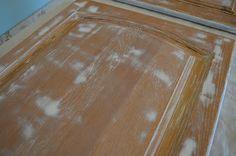 Timbermate wood grain filler to fill in oak cabinets