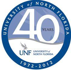 UNF - 40th anniversary logo