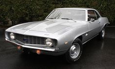Top 10 Muscle Cars 1969 ZL1 Camaro