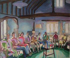 Quakers at Charney Manor by John Perkin