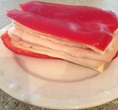 red bell pepper sandwich