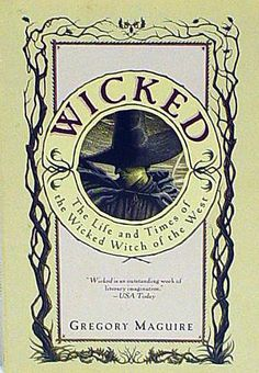 Wicked. The musical is phenomenal. The book is even better!