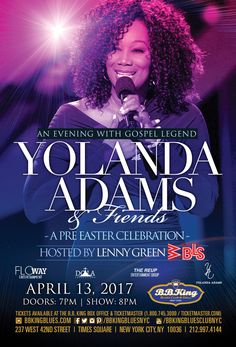 Yolanda Adams & Friends (4.13.17)