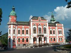 Slovakia, Ružomberok - Town hall