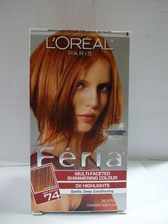 L'Oreal Paris Feria Multi-Faceted Shimmering Colour, Copper Shimmer 74 (Pack of 3) *** Be sure to check out this awesome product.