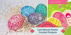 Last Minute Easter Crochet Projects