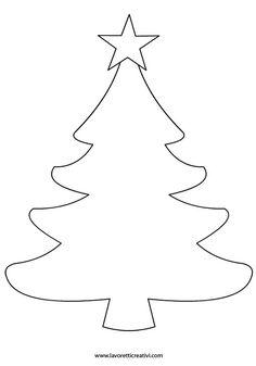 Molde de árbore de nadal.