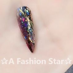 Nail Art ✰A Fashion Star✰ - Nagelkunst Video Sexy Nails, Fancy Nails, Trendy Nails, Cute Nails, Nail Art Designs Videos, Nail Design Video, Nail Art Videos, Beautiful Nail Designs, Beautiful Nail Art