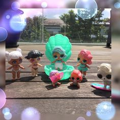 Its so hot today we need a swim!  #lol #lolsurprise #lolsurprisedolls #lolsurpriseseries2 #loldolls #pearlsurprise #lolpearlsurprise #lolcustom #loldollscustomise