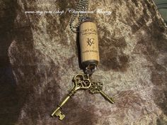Wine Cork  ReinventedJericho Canyon by CharmainesWhimzy on Etsy, $27.00