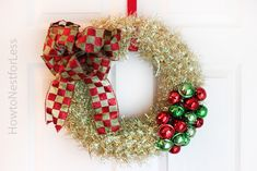 Holiday Decorating on the Cheap {with Dollar General supplies}...a few cute ideas