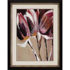 Aubergine Splendor I by Maritz Framed Painting Print