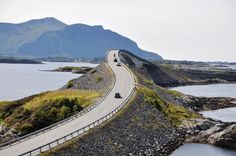 The Atlantic Road - Alesund, Norway