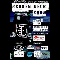 TMRO NIGHT From @proskates  Make sure to check out the @oiskateandshred Broken Deck Show ... For a great cause! @halifaxnoise