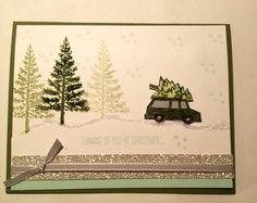Stampin 'Up! Festival of Trees, White Christmas