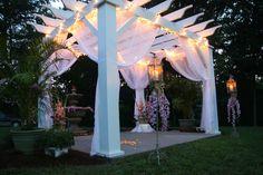 Outdoor Wedding at Dewberry Farm www.dewberrymanor.com
