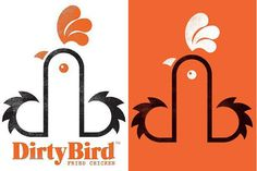 Dirty Bird Fried Chicken Logo Amuses Some, Offends Others | StockLogos.com