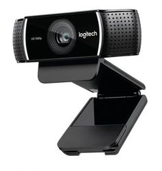 Logitech HD Pro Stream Webcam, Camera Streaming Webcam, Records Streams Your Gaming Sessions in Rich HD Streaming, Background Replacement Tripod Included Logitech, Full Hd 1080p, Full Hd Video, Software, Usb, Windows 10, Appel Video, Skype, Camera Deals
