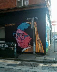 Kent street Graffiti Murals, Street Art Graffiti, Kent Street, Belfast, Painting, Painting Art, Paintings, Paint, Draw