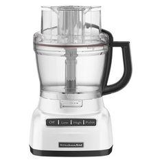 KitchenAid 9-Cup Food Processor - White