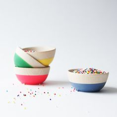 Cheers Mini Bowls via Great.ly. #adoredecor