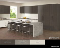 Design your own colour schemes for Kitchens and Wardrobes. Choose your colours online and preview them in virtual rooms. Download & Share your creation!
