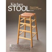 Complete Project Plans: Kitchen Stool