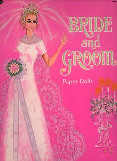 1970's dolls | Here is the front cover with the Bride all dressed up in her Wedding ...