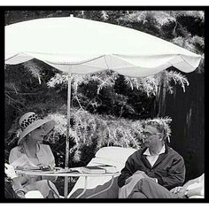 Mr Balenciaga with Mrs Bricard (director of Christian Dior) - Paris Match 1968 - ph Jean Tesseyre