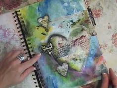 I'm inspired by the color combinations on most of her pages. I am very inspired and plan on using some on future journal pages.  Life Notes Art Journal Flip Through - YouTube