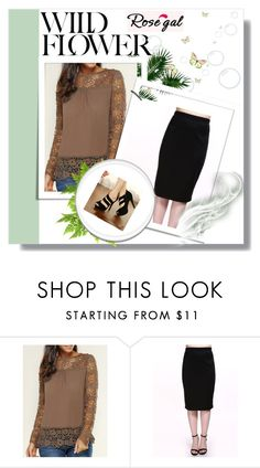 """""""Rosegal 23"""" by zerina913 ❤ liked on Polyvore featuring rosegal"""