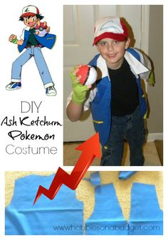 Ready to create a DIY Ash Ketchum Pokemon costume?  Here's my tips on how I made it!