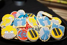 Transformers Party Casino Party Games, Casino Night Party, Casino Theme Parties, Themed Parties, Transformers Birthday Parties, Transformer Birthday, Party Central, Fun Cookies, Sugar Cookies