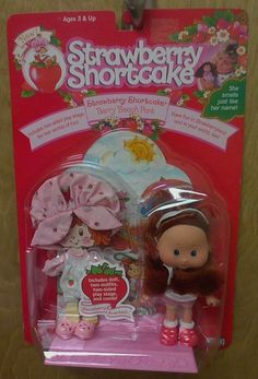 Vintage Strawberry Shortcake THQ 1991 Berry Beach Park Doll SEALED NIB  #THQInc #DollswithClothingAccessories