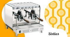 Sixties Espresso Coffee Machine, Coffee Maker, Kitchen Appliances, Bar, Home, Coffee Maker Machine, Diy Kitchen Appliances, Coffee Percolator, Home Appliances