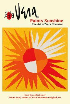 Vera Paints Sunshine the art of vera neumann